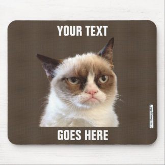 Grumpy Cat™ Design Your Own Mousepad