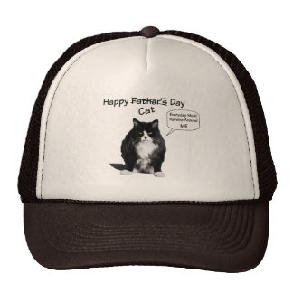 Grumpy Cat Father's Day Trucker Hat