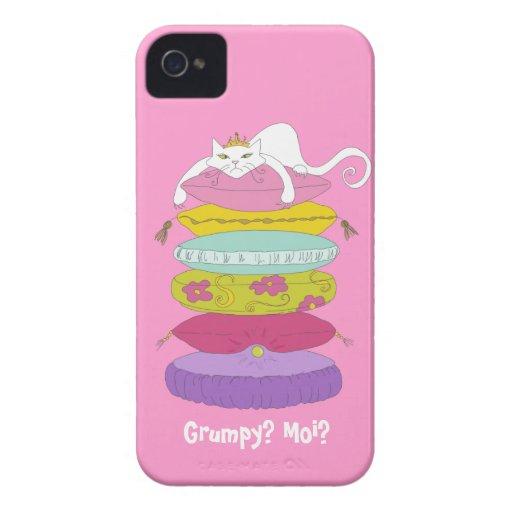 Grumpy Cat funny cartoon Blackberry Bold case