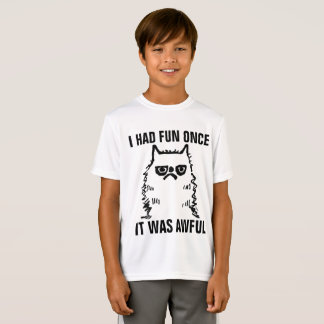 Grumpy Cat funny T-shirts for Kids Boys