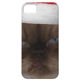 Grumpy Christmas Cat iPhone 5 Cases