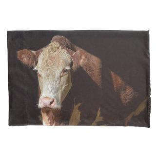 Grumpy Cow Pillowcase