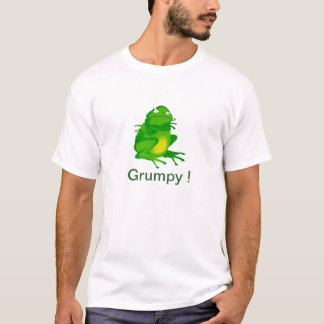 Grumpy frog Mens t-shirt