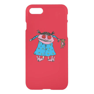 Grumpy Girl iPhone 7 Case