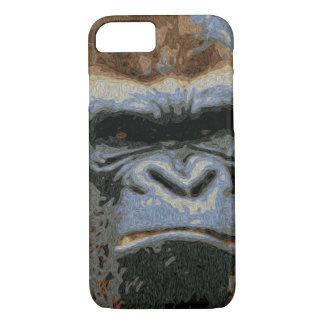 Grumpy Gorilla iPhone 7 Case
