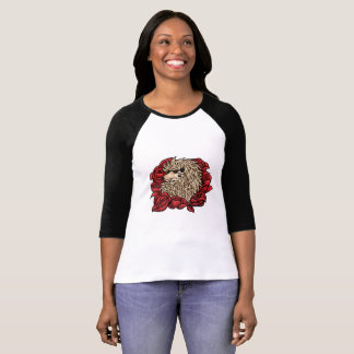 Grumpy Hedgehog 3/4 Sleeve Shirt
