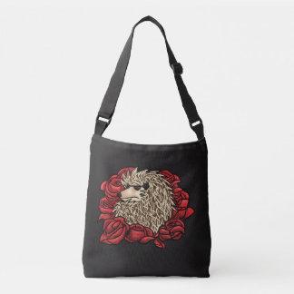 Grumpy Hedgehog Crossbody bag