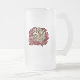 Grumpy Hedgehog Frosted Mug