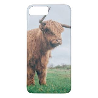 Grumpy Highland Cow iPhone 8 Plus / 7 Plus Case