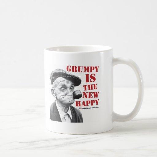 Grumpy is the new happy coffee mug