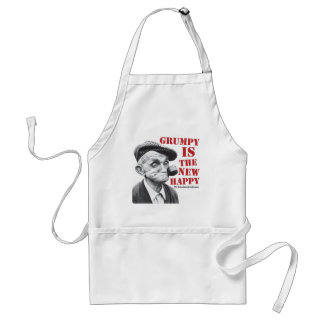 Grumpy is the new happy standard apron