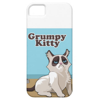 Grumpy kitty iPhone 5 cover