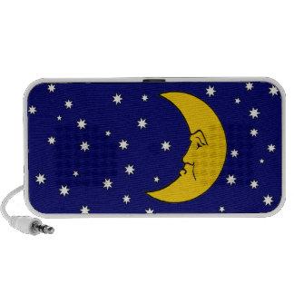Grumpy Mrs Moon Doodle Portable Music Speaker