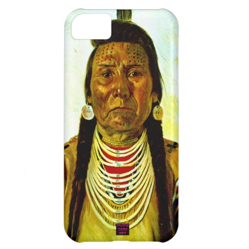 Grumpy Native Indian Chief Cover For iPhone 5C
