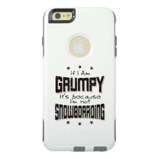 GRUMPY not SNOWBOARDING (blk) OtterBox iPhone 6/6s Plus Case