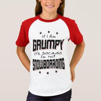 GRUMPY not SNOWBOARDING (blk) T-Shirt