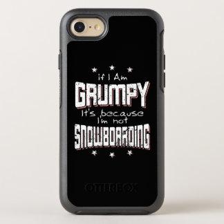 GRUMPY not SNOWBOARDING (wht) OtterBox Symmetry iPhone 8/7 Case