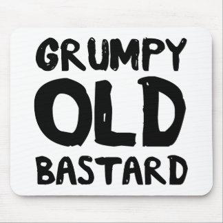 Grumpy Old Bastard Mouse Pad