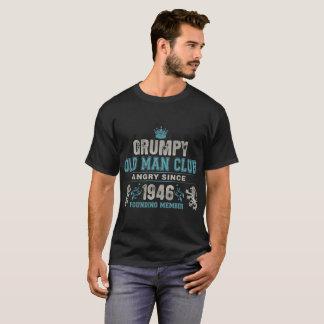 Grumpy Old Man Club Since 1946 Founder Member Tees