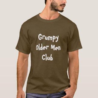 Grumpy Older Men Clubs Business Name Shirts T-Shir