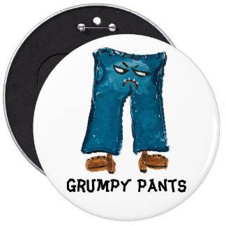 Grumpy Pants Button