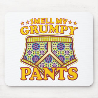 Grumpy Pants Smell Mouse Pad