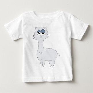 Grumpy Persian Cat Llama Baby T-Shirt