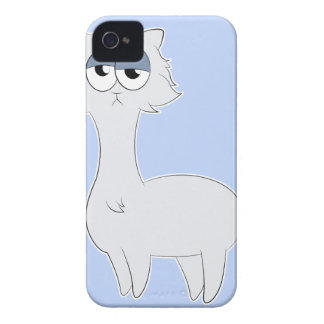 Grumpy Persian Cat Llama Case-Mate iPhone 4 Case