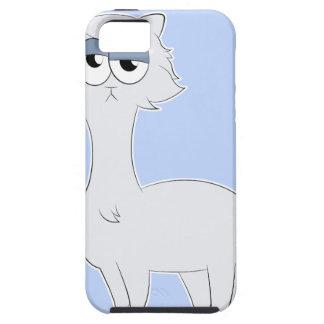 Grumpy Persian Cat Llama iPhone 5 Case