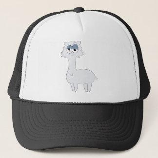 Grumpy Persian Cat Llama Trucker Hat