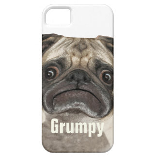 Grumpy Puggy Gifts iPhone 5 Case