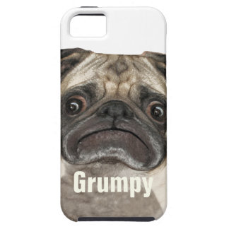Grumpy Puggy Gifts iPhone 5 Covers