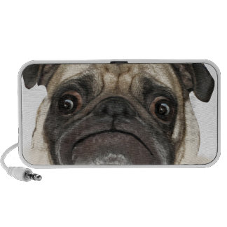 Grumpy Puggy Gifts Mp3 Speakers