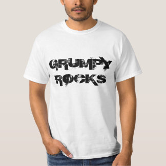 """Grumpy Rocks"" t-shirt"