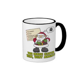 Grumpy Santa Mug