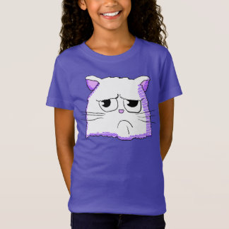 Grumpy White Cat Shirt