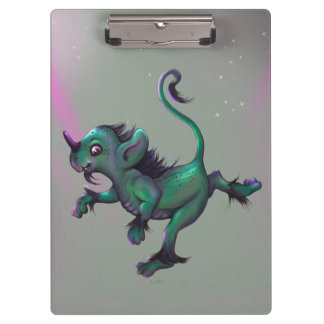 GRUNCH ALIEN  CARTOON Clipboard