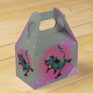 GRUNCH ALIEN  CARTOON GABLE Favor Box