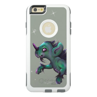 GRUNCH ALIEN OtterBox Apple iPhone 6 Plus White