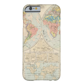 Grund u Boden - Soil Atlas Map Barely There iPhone 6 Case