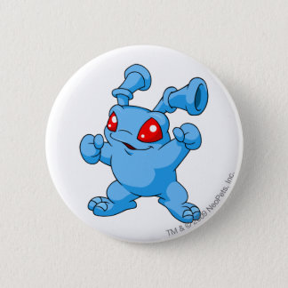 Grundo Blue 6 Cm Round Badge