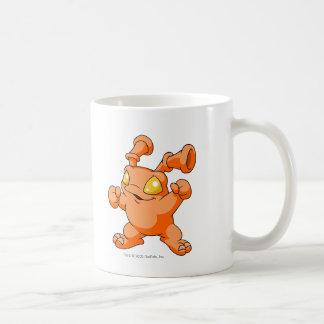 Grundo Orange Basic White Mug