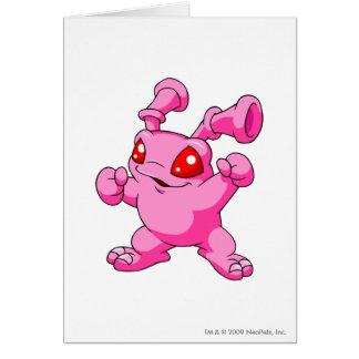 Grundo Pink Greeting Card
