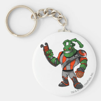 Grundo Virtupets Space Station Player Basic Round Button Key Ring
