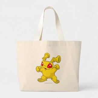 Grundo Yellow Jumbo Tote Bag