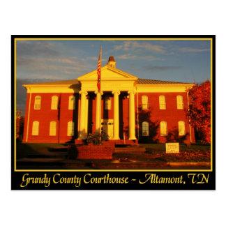 Grundy County Courthouse - Altamont, TN Postcard