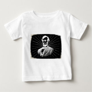 grunge abraham lincoln baby T-Shirt