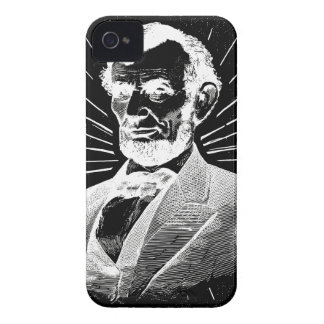 grunge abraham lincoln Case-Mate iPhone 4 case