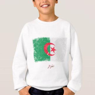 Grunge Algeria Flag Sweatshirt
