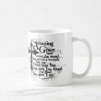 Grunge Amazing Grace Mug